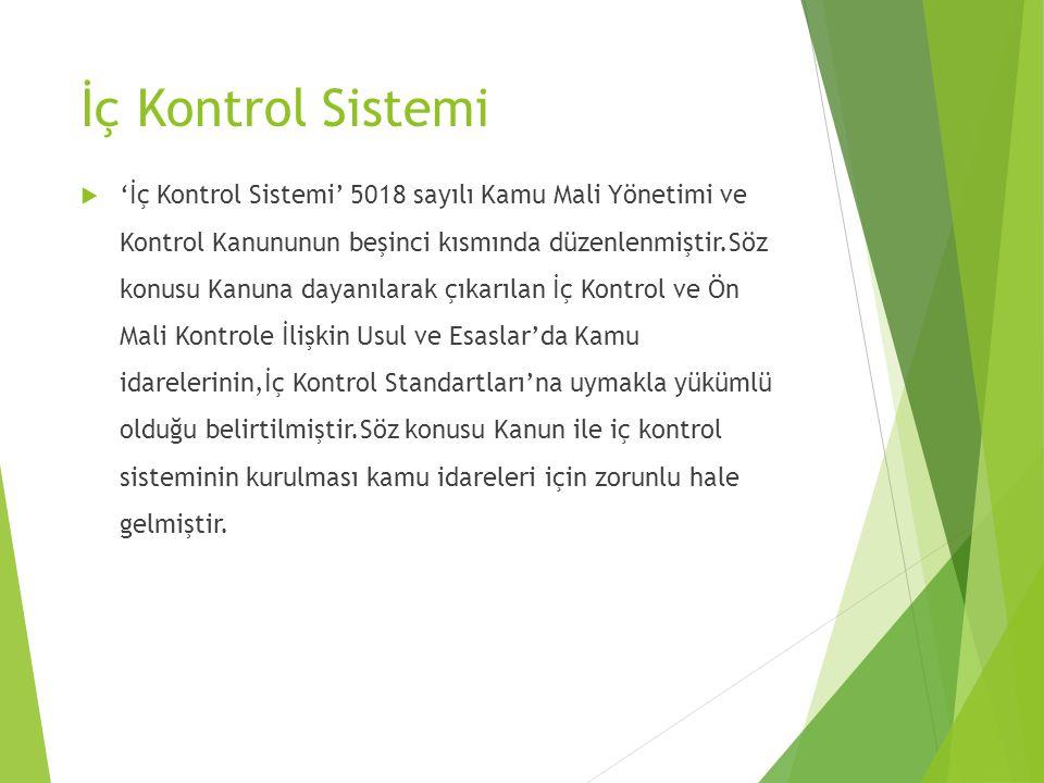 İç Kontrol Sistemi