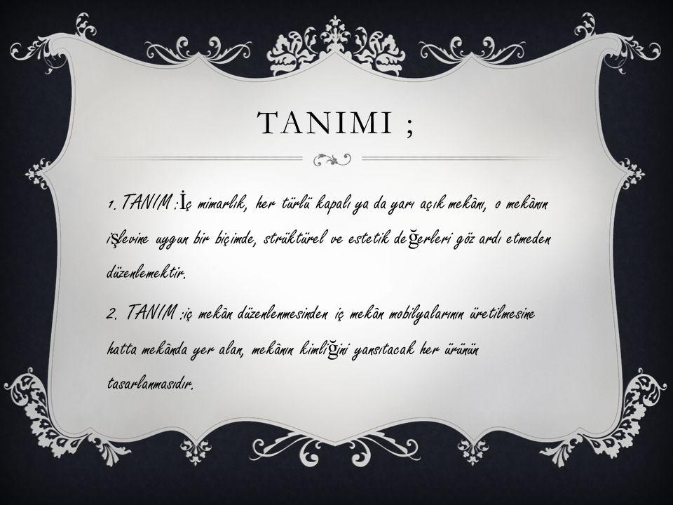 TANIMI ;