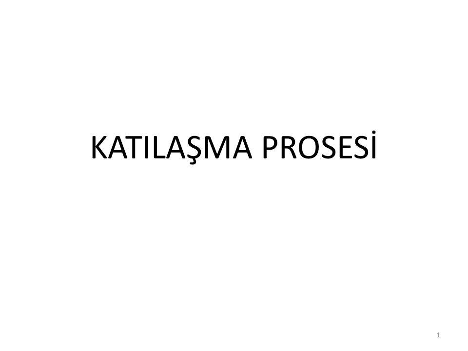 KATILAŞMA PROSESİ