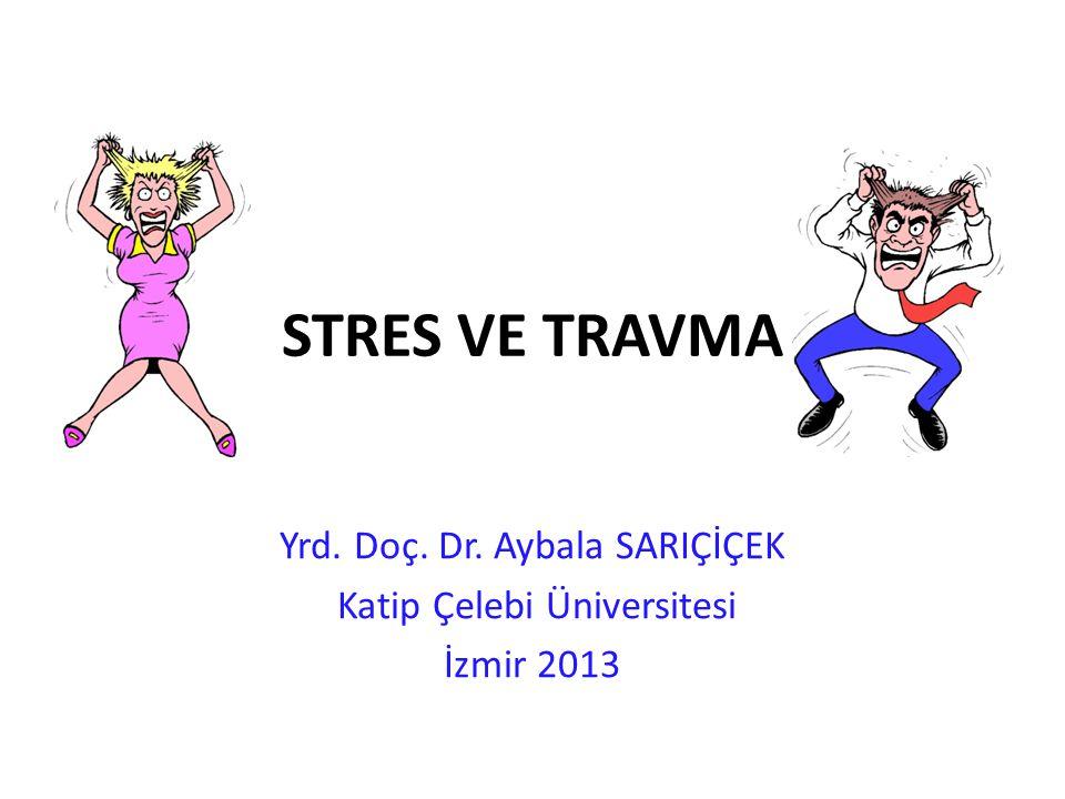 Yrd. Doç. Dr. Aybala SARIÇİÇEK Katip Çelebi Üniversitesi İzmir 2013