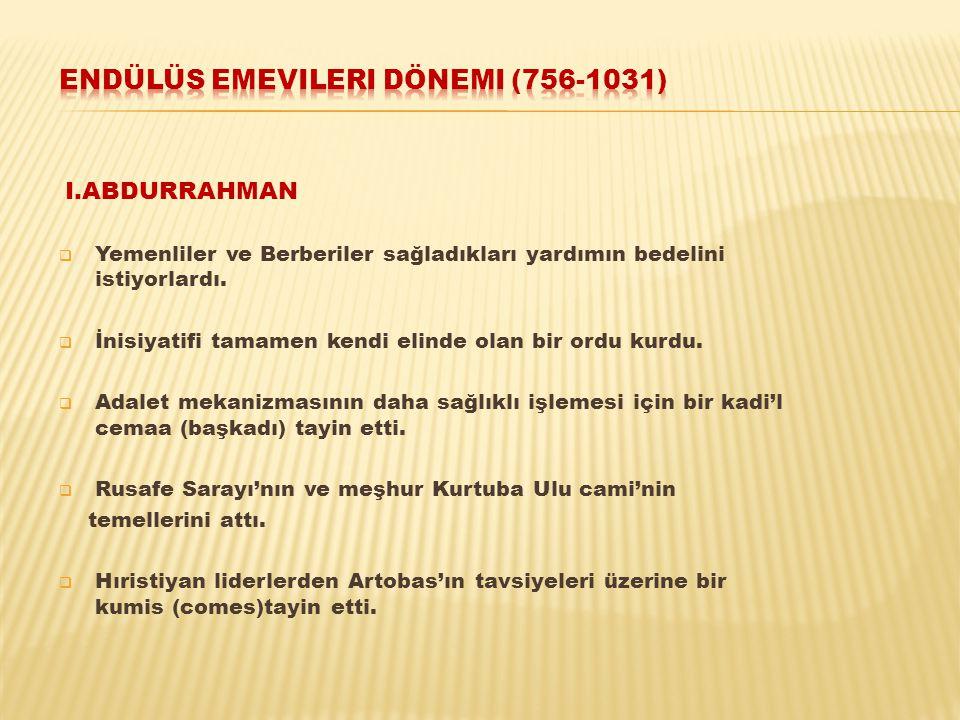 Endülüs emevileri dönemi (756-1031)