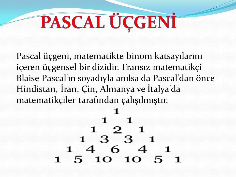 PASCAL ÜÇGENİ