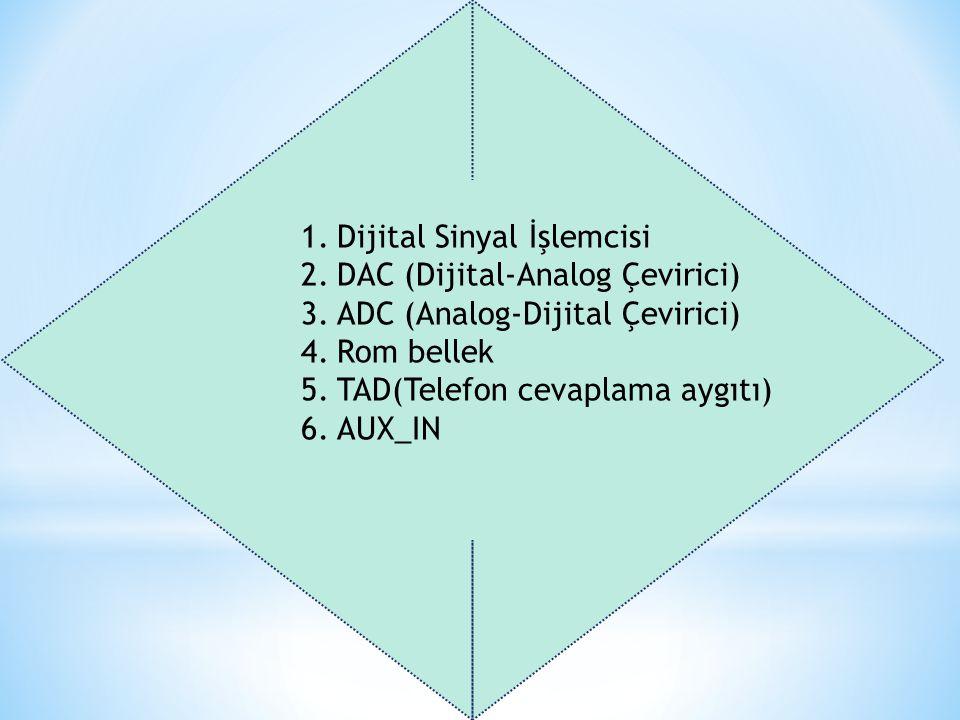 Dijital Sinyal İşlemcisi DAC (Dijital-Analog Çevirici)