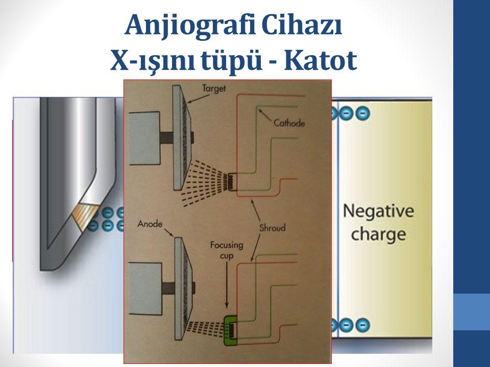Anjiografi Cihazı X-ışını tüpü - Katot
