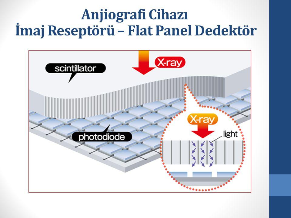 İmaj Reseptörü – Flat Panel Dedektör