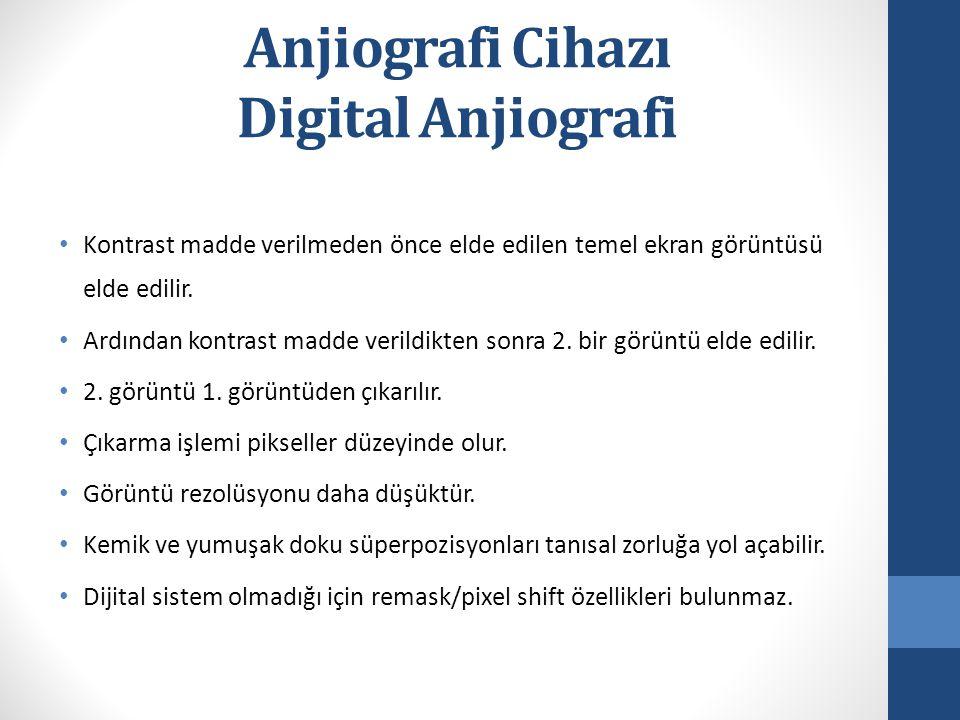 Anjiografi Cihazı Digital Anjiografi