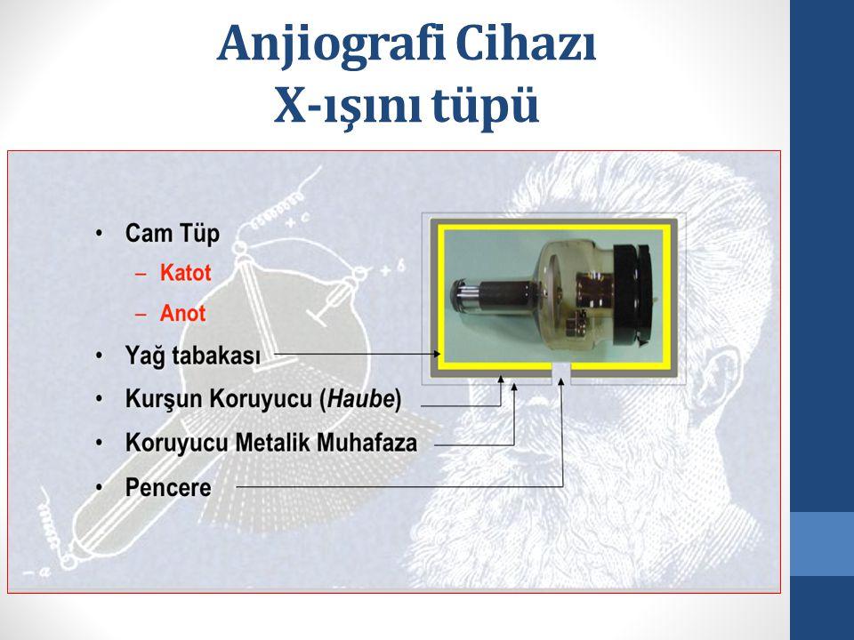 Anjiografi Cihazı X-ışını tüpü