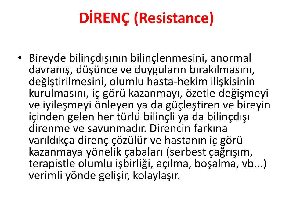 DİRENÇ (Resistance)