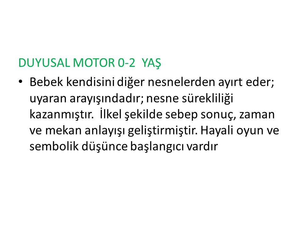 DUYUSAL MOTOR 0-2 YAŞ