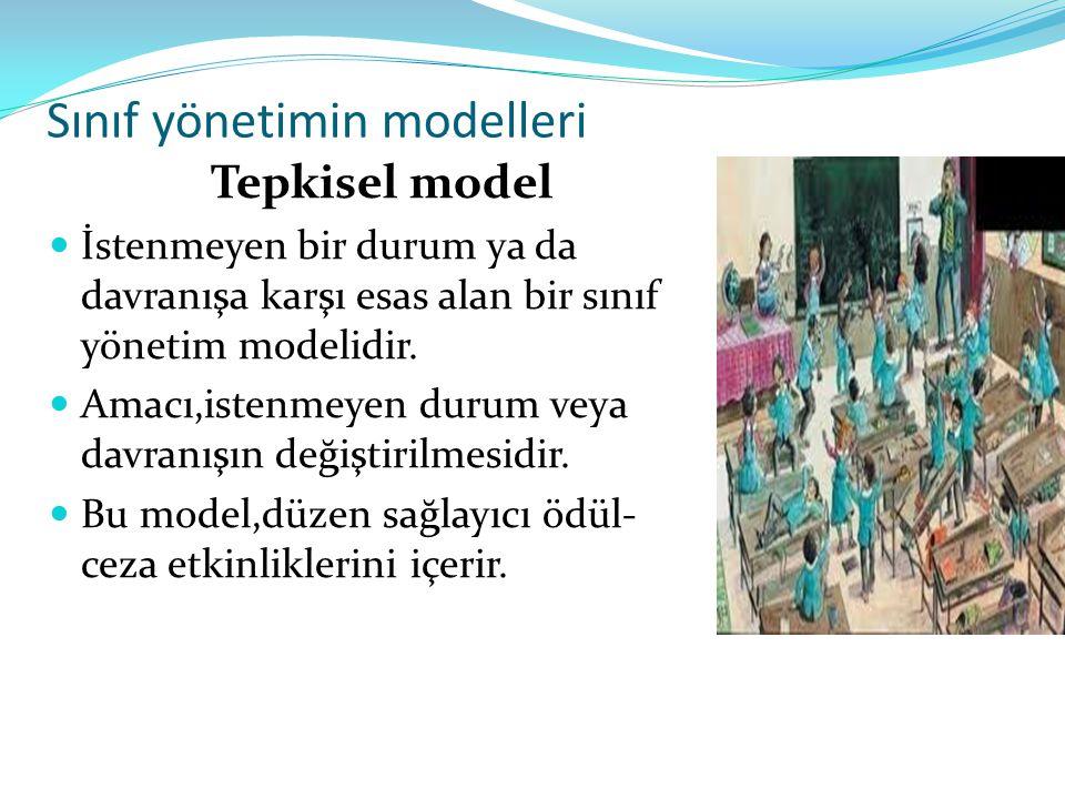 Sınıf yönetimin modelleri