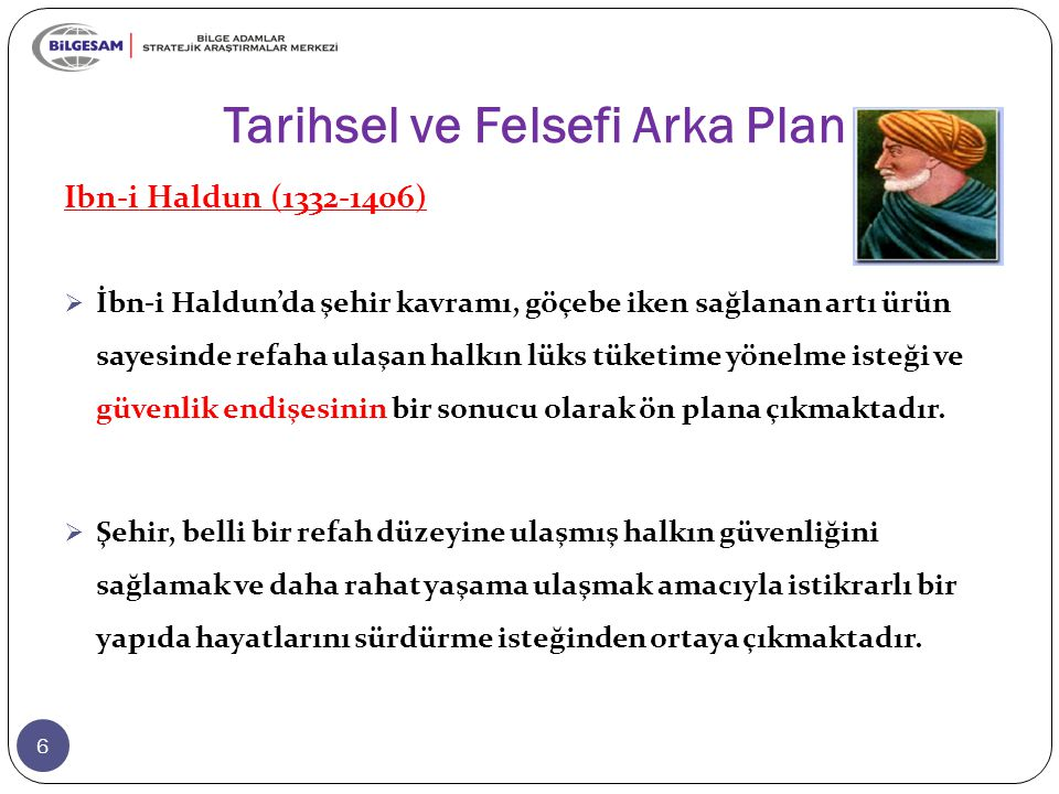 Tarihsel ve Felsefi Arka Plan