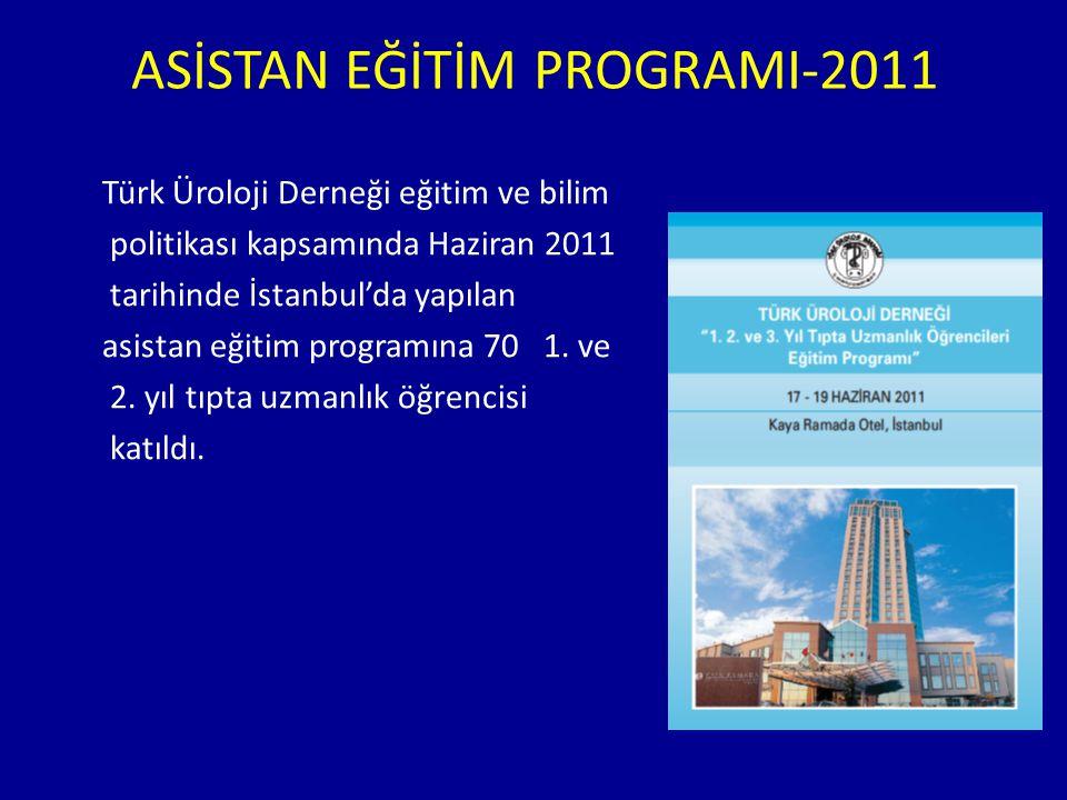 ASİSTAN EĞİTİM PROGRAMI-2011