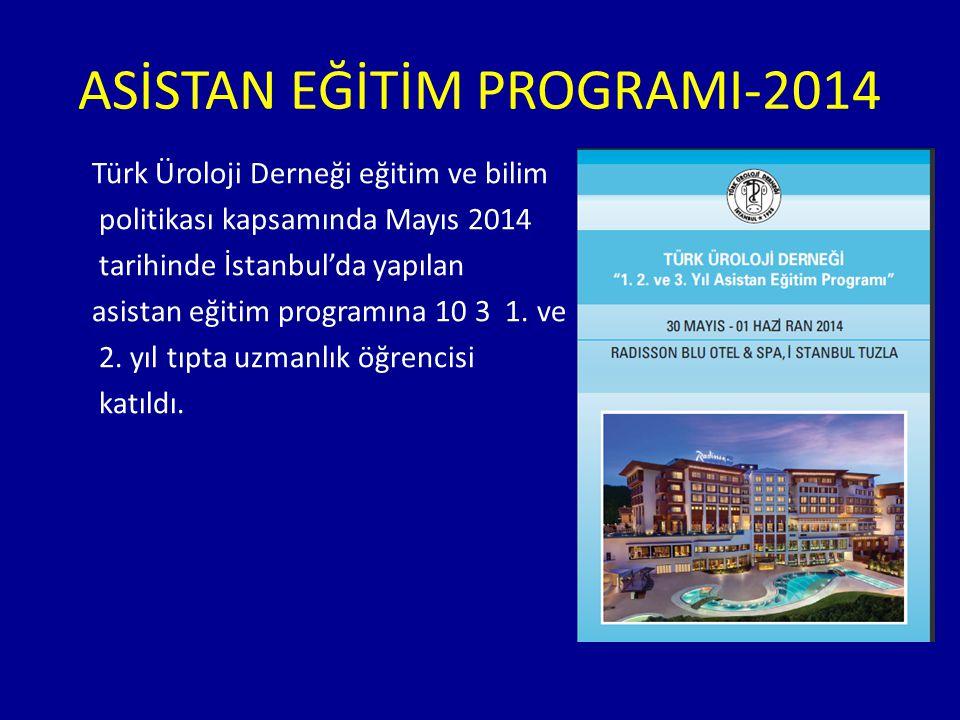 ASİSTAN EĞİTİM PROGRAMI-2014
