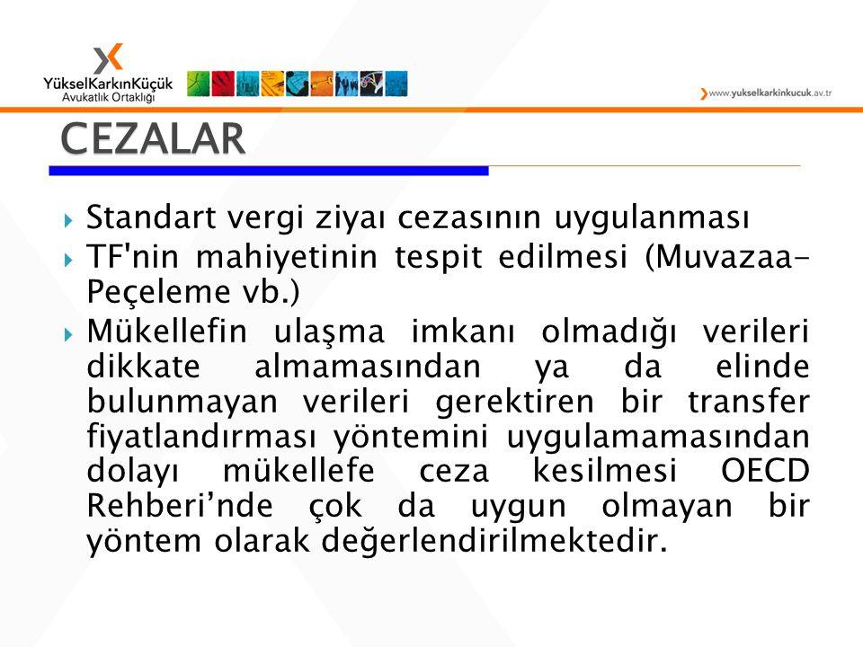 CEZALAR Standart vergi ziyaı cezasının uygulanması