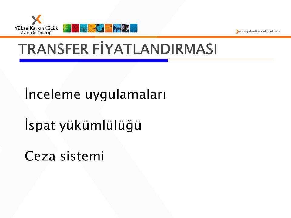 TRANSFER FİYATLANDIRMASI