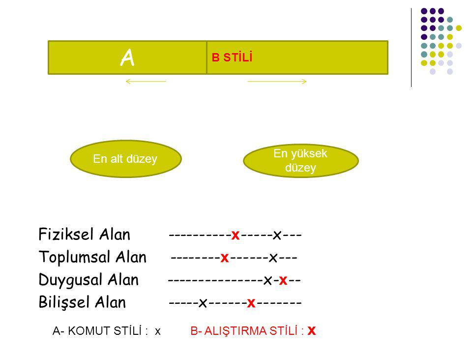 A Fiziksel Alan ----------x-----x---