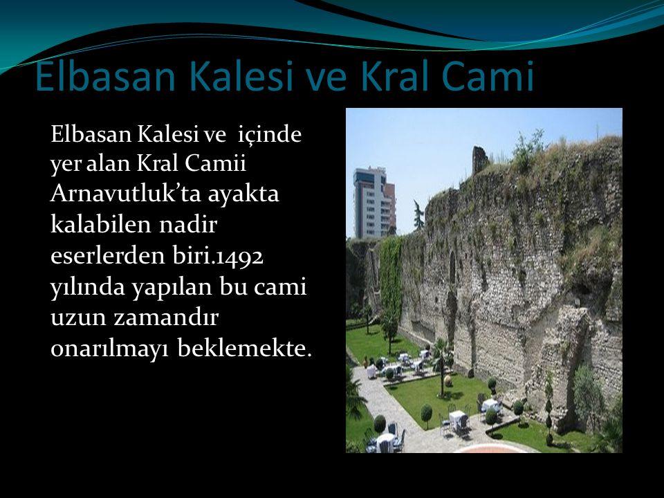 Elbasan Kalesi ve Kral Cami