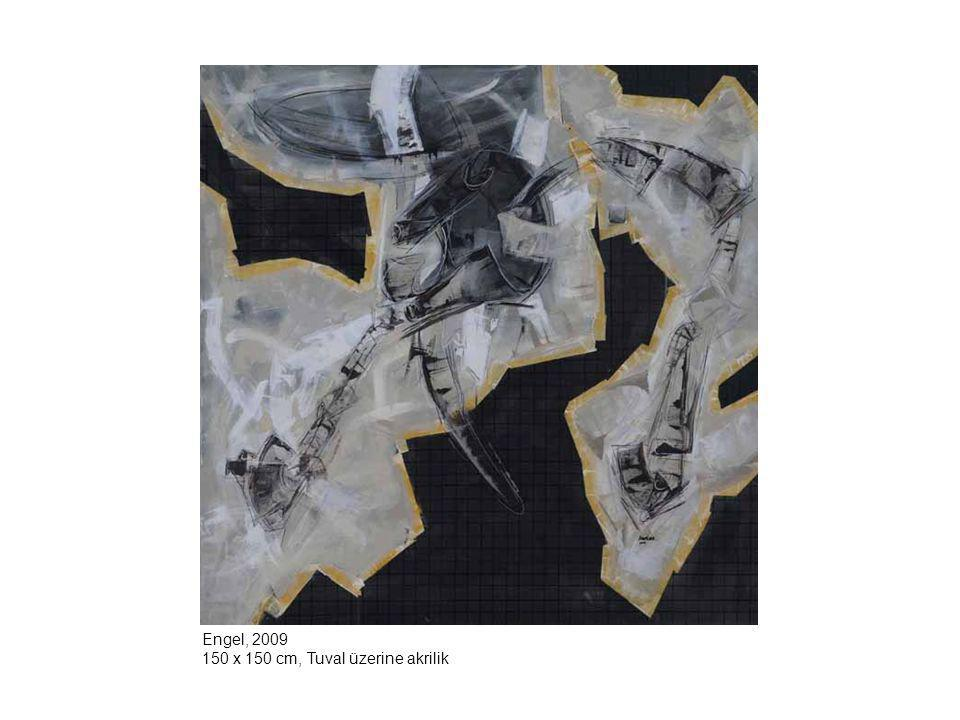 Engel, 2009 150 x 150 cm, Tuval üzerine akrilik