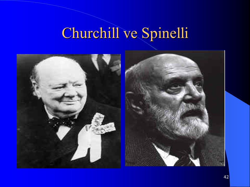 Churchill ve Spinelli