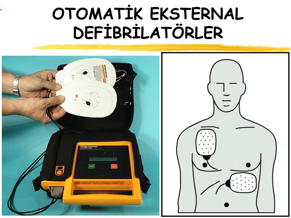 OTOMATİK EKSTERNAL DEFİBRİLATÖRLER