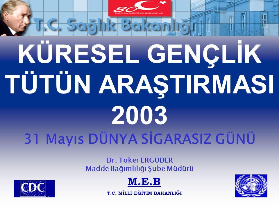 KÜRESEL GENÇLİK TÜTÜN ARAŞTIRMASI 2003