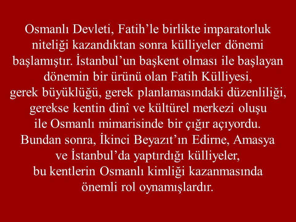 Osmanlı Devleti, Fatih'le birlikte imparatorluk