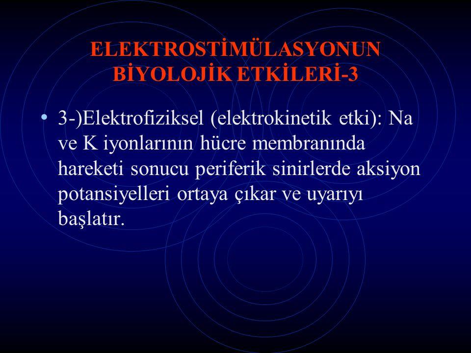 ELEKTROSTİMÜLASYONUN BİYOLOJİK ETKİLERİ-3