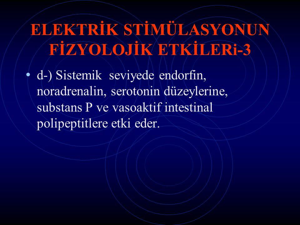 ELEKTRİK STİMÜLASYONUN FİZYOLOJİK ETKİLERi-3