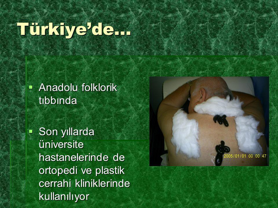 Türkiye'de... Anadolu folklorik tıbbında