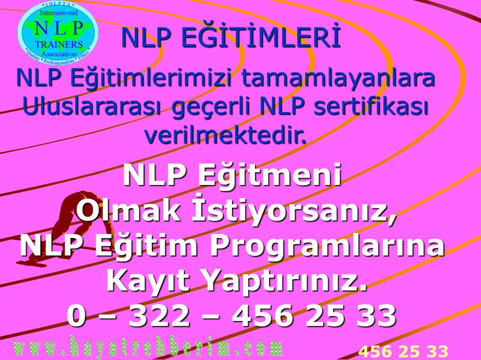 NLP Eğitim Programlarına