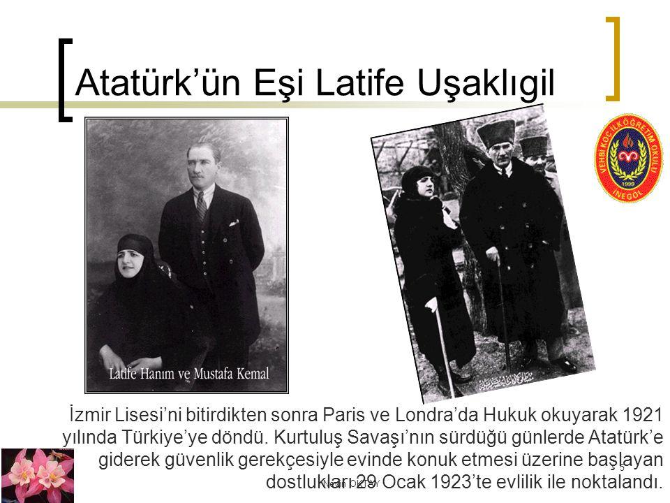 Atatürk'ün Eşi Latife Uşaklıgil