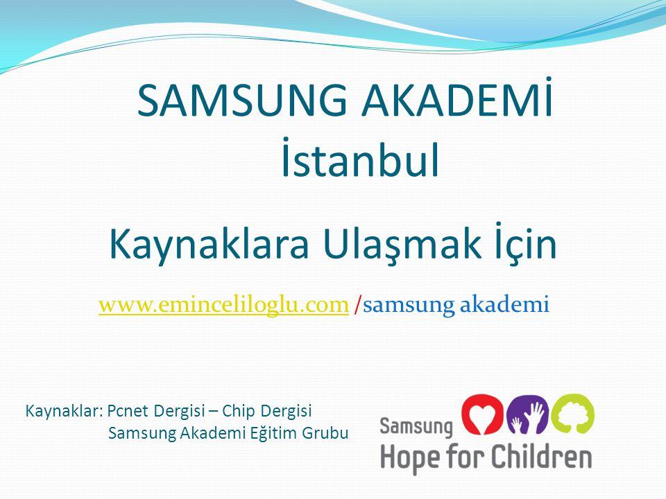 SAMSUNG AKADEMİ İstanbul