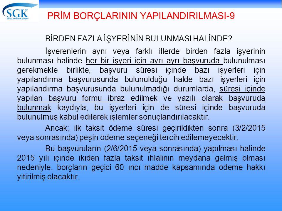 PRİM BORÇLARININ YAPILANDIRILMASI-9