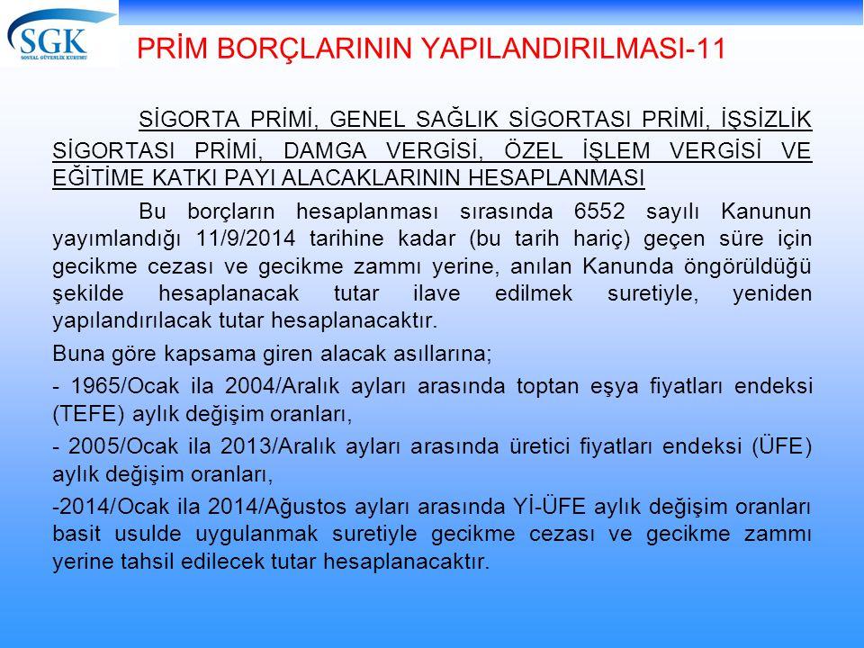 PRİM BORÇLARININ YAPILANDIRILMASI-11