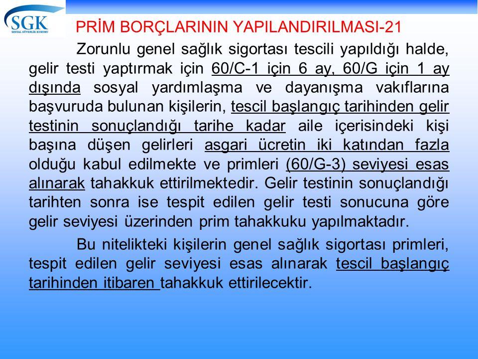 PRİM BORÇLARININ YAPILANDIRILMASI-21
