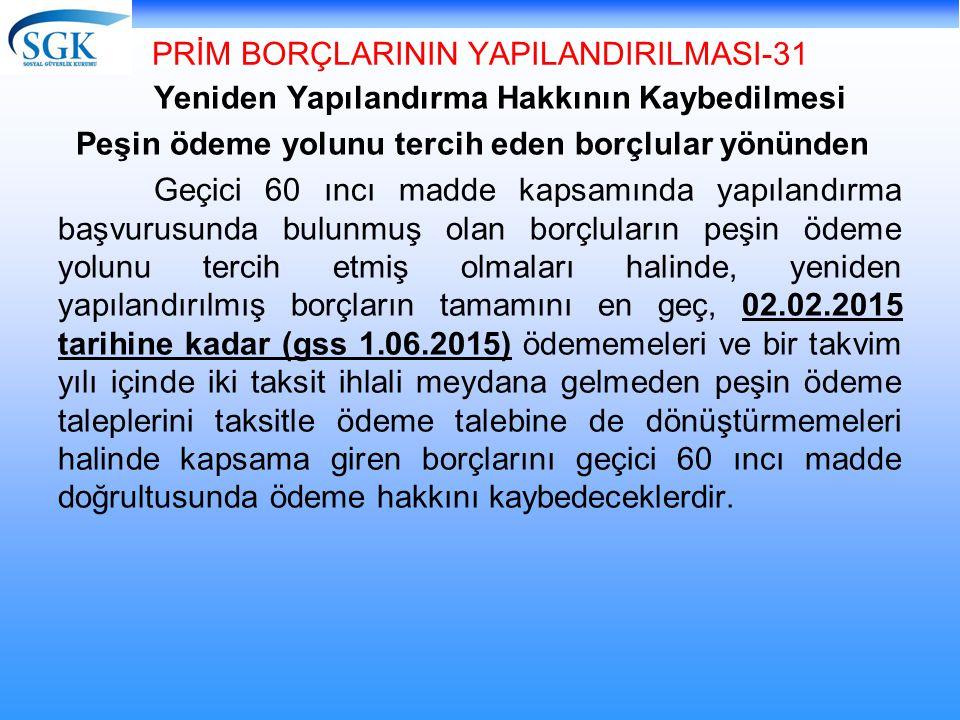 PRİM BORÇLARININ YAPILANDIRILMASI-31