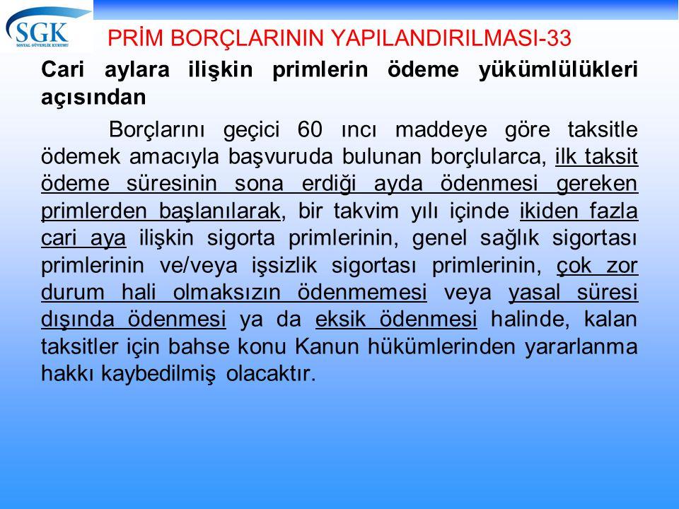 PRİM BORÇLARININ YAPILANDIRILMASI-33
