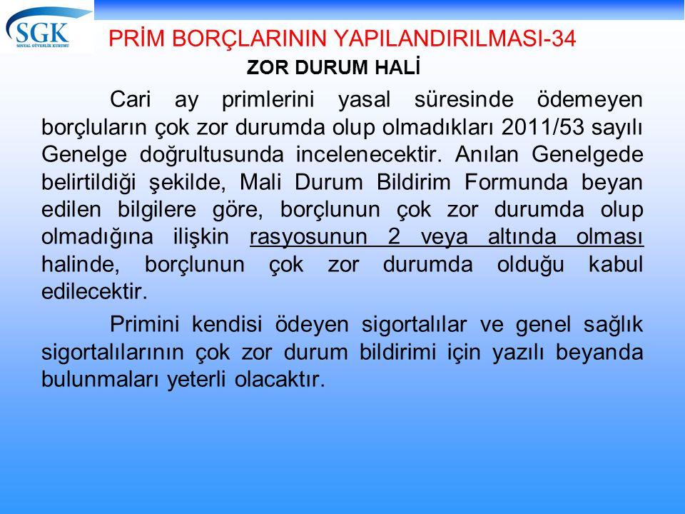 PRİM BORÇLARININ YAPILANDIRILMASI-34