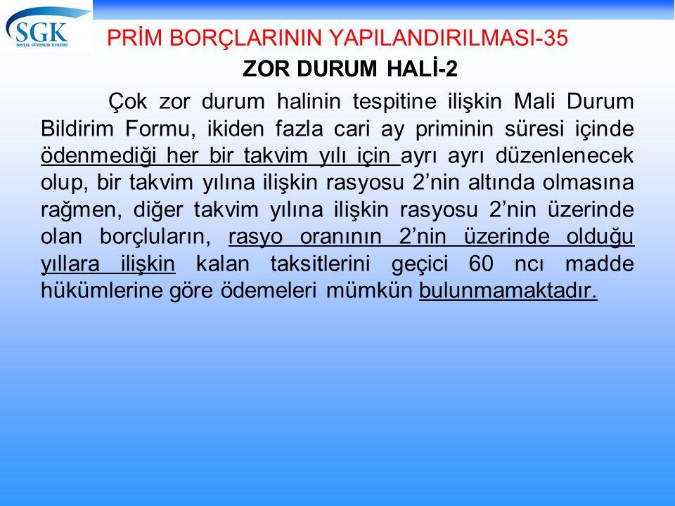 PRİM BORÇLARININ YAPILANDIRILMASI-35
