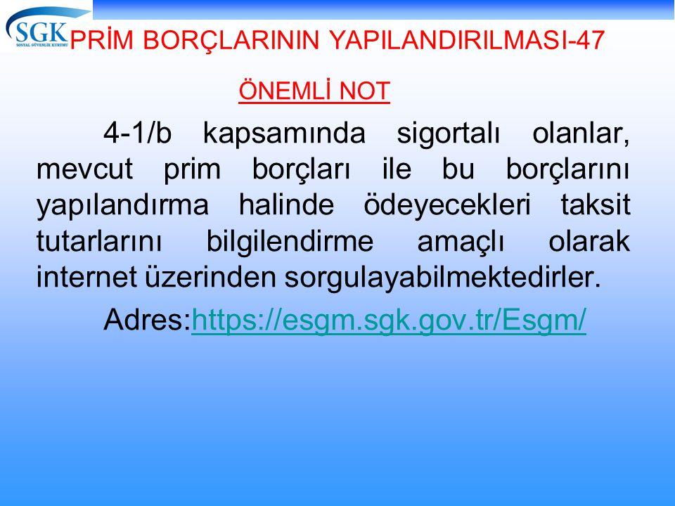 PRİM BORÇLARININ YAPILANDIRILMASI-47