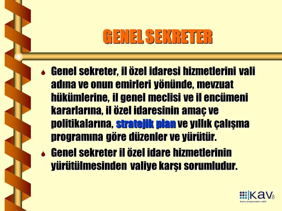GENEL SEKRETER
