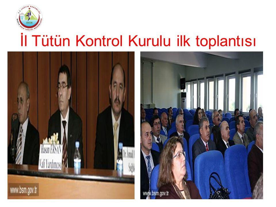 İl Tütün Kontrol Kurulu ilk toplantısı