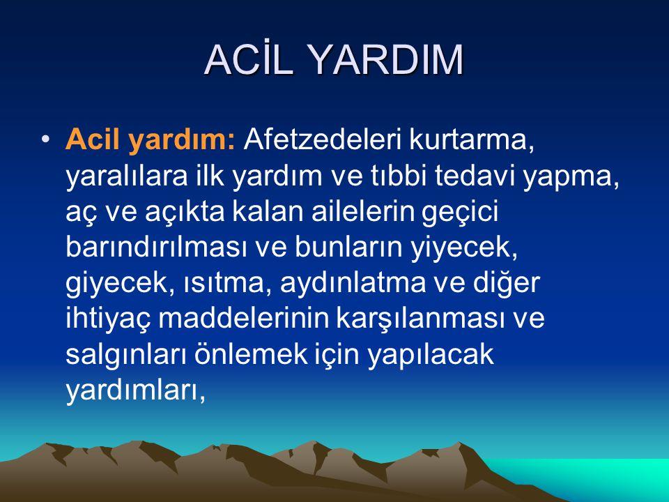 ACİL YARDIM