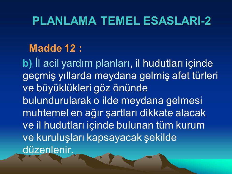 PLANLAMA TEMEL ESASLARI-2