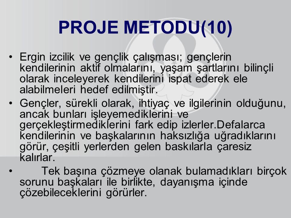 PROJE METODU(10)