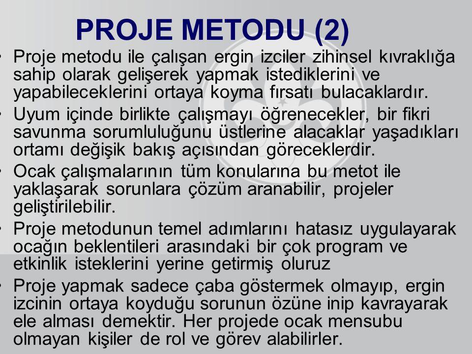 PROJE METODU (2)