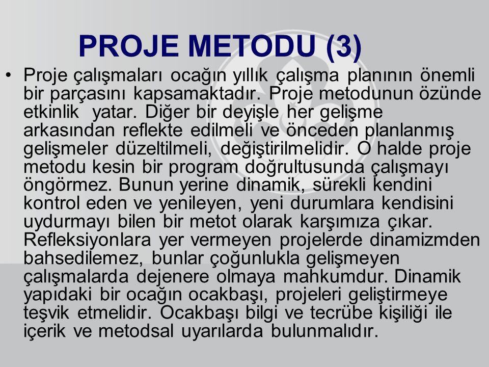 PROJE METODU (3)
