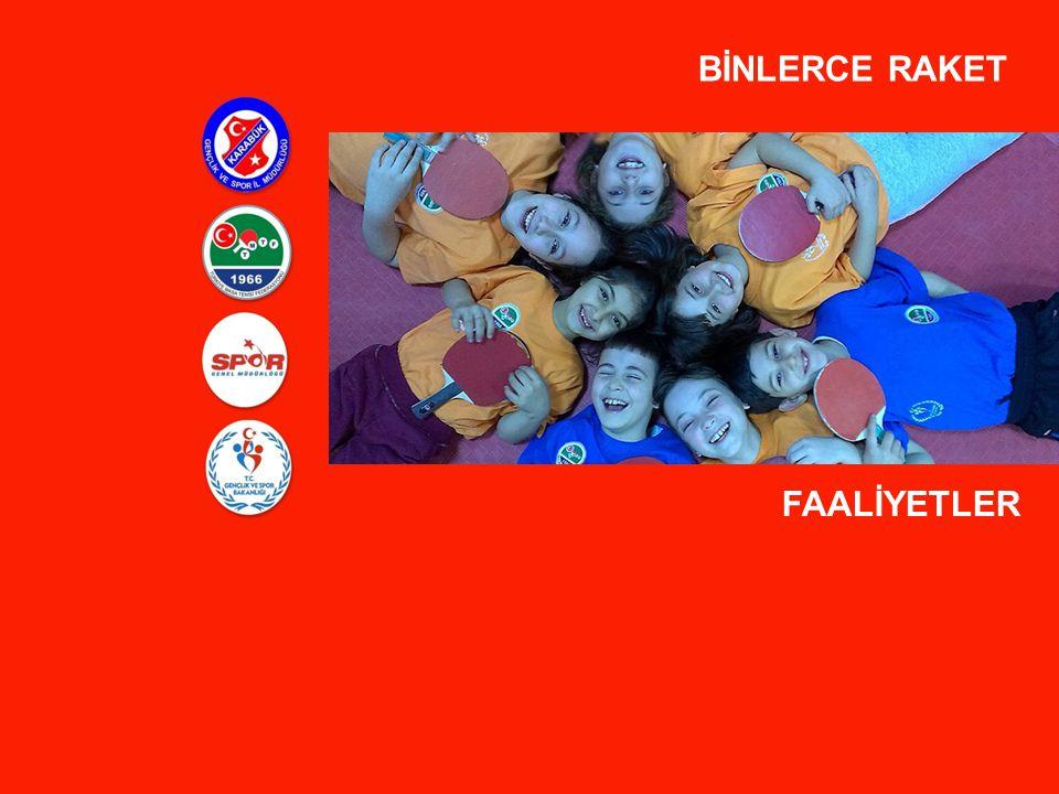 BİNLERCE RAKET FAALİYETLER