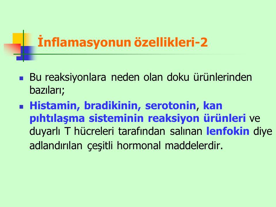 İnflamasyonun özellikleri-2