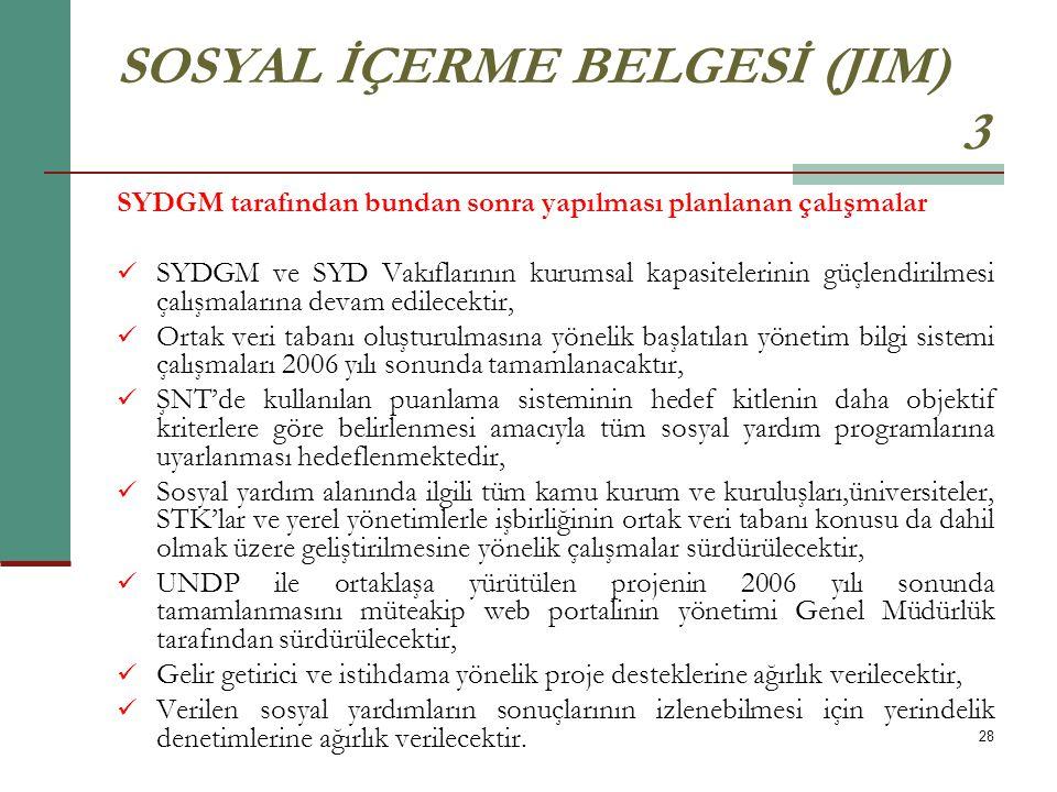 SOSYAL İÇERME BELGESİ (JIM) 3